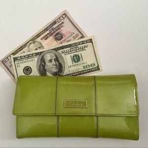 """Cole Haan """"Good Karma"""" Wallet in Lime Green"""